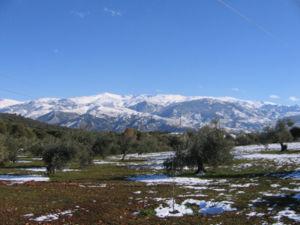 Granada, Semana Santa de Frio y Lluvia.