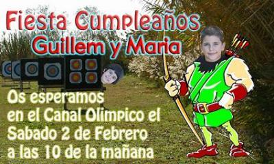 CUMPLEAÑOS GUILLEM Y MARIA