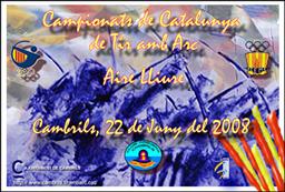 CAMPEONATO CATALUNYA 2008 AIRE LIBRE 70X70